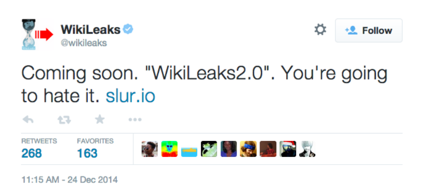 "[Opinionated] A Skeptical Look At ""Wikileaks 2.0"" Slur, Accepting Bitcoin For Secrets"