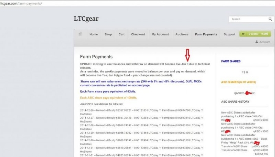 LTCGear Payouts Delayed Since December 2014 Due to Various Attacks, New ASICs Announced