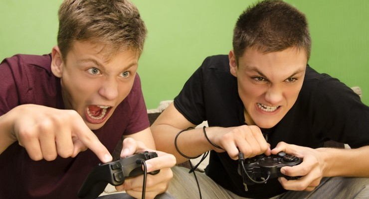 the effect of violent video games on children and students