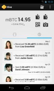 Hive Wallet Screenshot 2