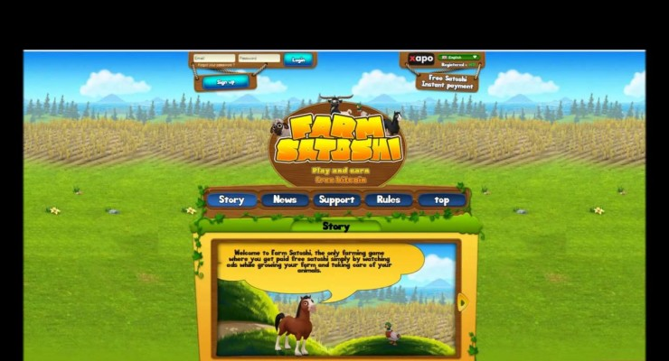 "Bitcoin's ""FarmVille"" FarmSatoshi Lets You Earn BTC While Playing A Game"
