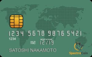 SpectroCoin Prepaid Card