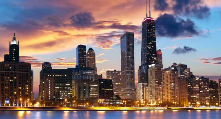 Chicago Houses Twelve Bitcoin ATM's, Manufacturer War Heats Up