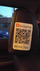 Uber Bitcoin Tips
