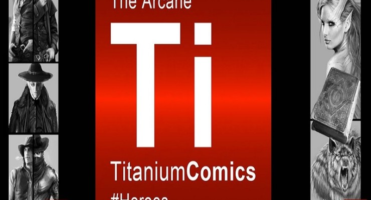 Titanium Comics Joins Forces with Ascribe for Limited Edition Comic Release