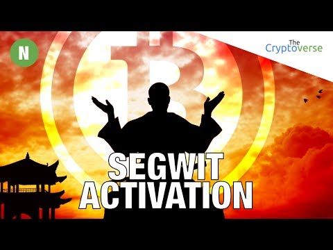 ⏰26 Hrs Till New Segwit Lock-in Period / Bitcoin Cash Trades 2 / SEC Decides ICOs Are Securities