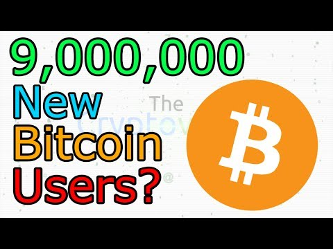 9,000,000 New Bitcoin Users / World First ICO Magazine / TenX Without Androi (The Cryptoverse #299)