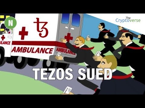 ICOs In BIG Trouble? 😱 Tezos Cryptocurrency Sued In Class Action ⚖ Lawsuit – More Of These To Come?