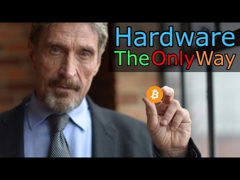 John McAfee: The Only Way To Secure Your Bitcoins (The Cryptoverse #141)