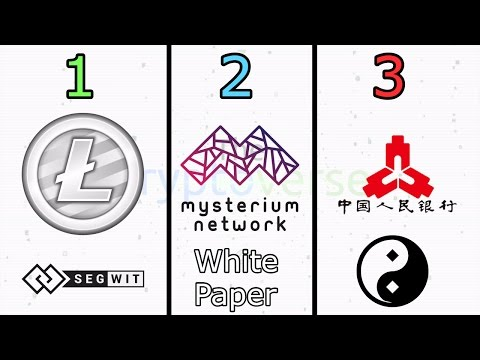LTC SegWit Active, Mysterium Whitepaper, Can Banking & Crypto Coexist? (The Cryptoverse #267)
