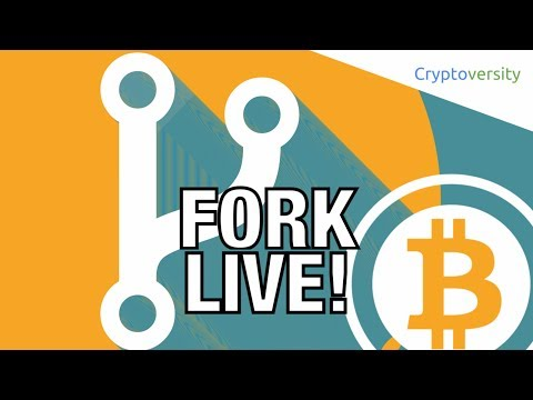 Fork With Me! Live 🎥 Coverage Of The Bitcoin Hard Fork 🍴 Split Of Bitcoin Cash 💸 UAHF