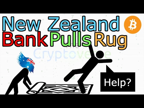 New Zealand Banks Pull The Rug And Kill Kiwi Bitcoin Exchange BitNZ (The Cryptoverse #209)