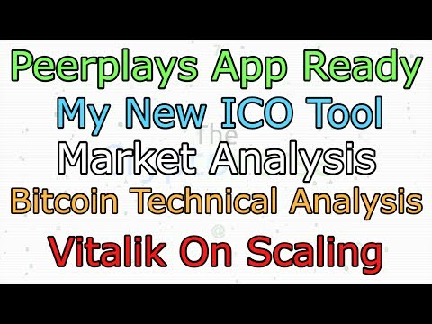 Peerplays App Ready, New ICO Tool, Vitalik on Scaling Ethereum (The Cryptoverse #279)