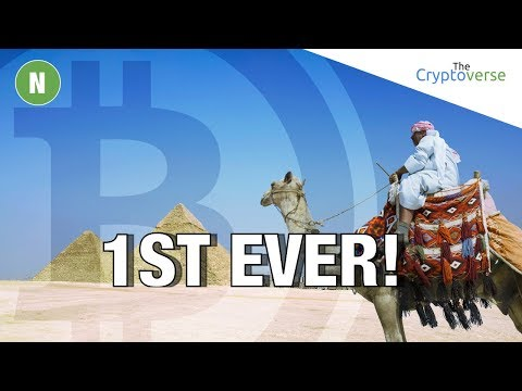 1ST EVER Bitcoin Exchange 🔄 About To Launch In Egypt As Pound Drop 50% In A Year (Cryptoverse)