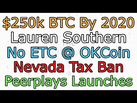 Coinbase Jammed, 2020 = $250k BTC, Lauren Southern On ETH, No Tax on Crypto (The Cryptoverse #277)