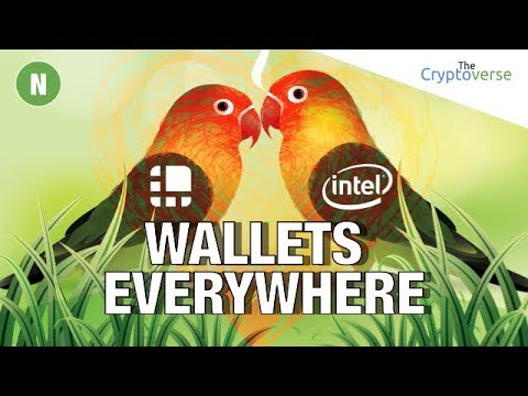 Ledger Partners 👫 With Intel = Hardware Wallets Everywhere! / DTube 📺 v0.4 Brings Big Improvements
