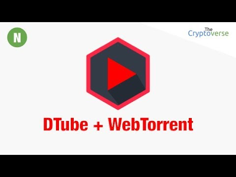 How To Support DTube 📺 Content Creators Using WebTorrent To Help Host Their Videos (Cryptoverse)