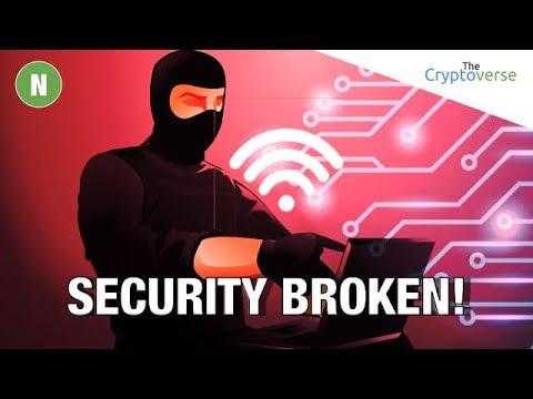WiFi Security Broken 🔨 / Tezos Internal Fight 😡 / Bitfinex Exits US Market ⛔