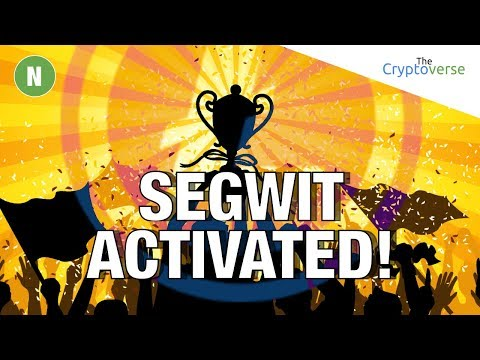 Why Did Segwit Activation ♨ On Bitcoin Cause LiteCoin To Jump 📈 In Price To $50? (The Cryptoverse)