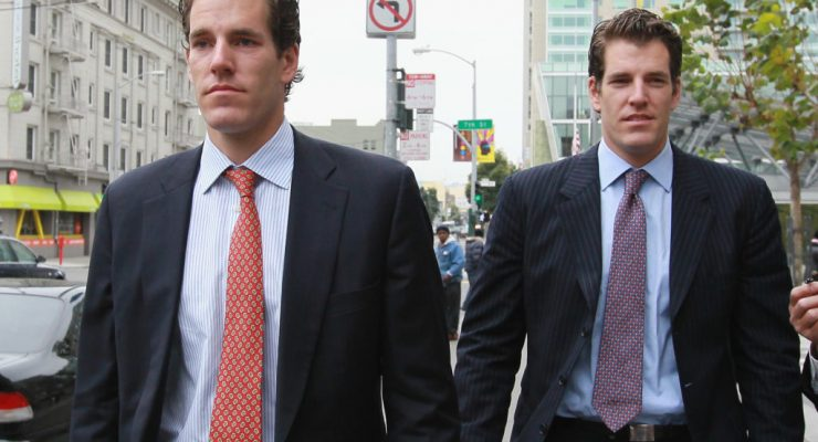 This is How The Winklevoss Twins 'Hodl' Their Billion in Bitcoin
