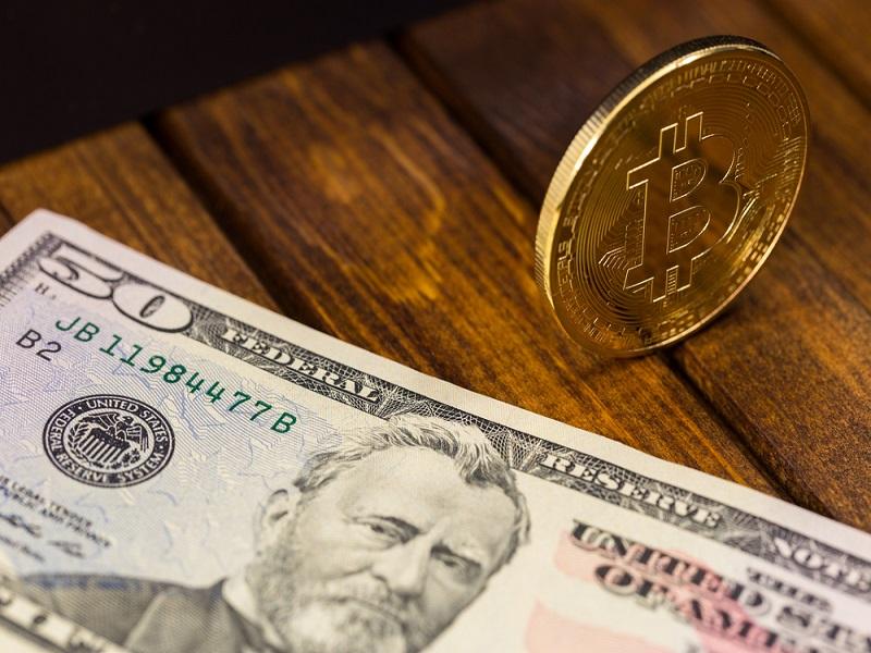 Poke. Bitcoin vs. Fiat Currency