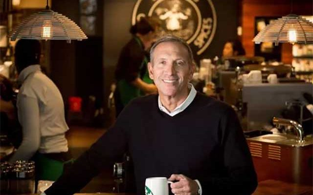 Starbucks Chairman Howard Schultz Believes In Cryptocurrency – Just Not Bitcoin