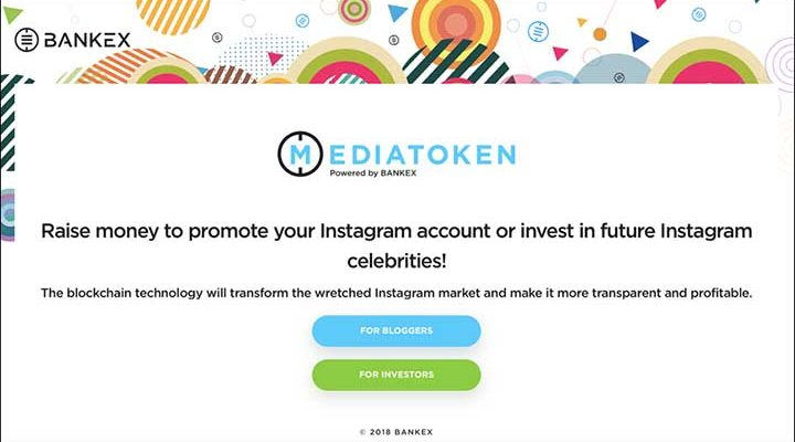 Instagram Bloggers to Receive Cryptocurrency for Advertising – MediaToken Platform Now Accepting Applications