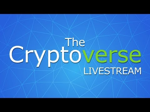 26th Jan The Cryptoverse LIVE - Q&A + So Much News On Bitcoin, Cryptocurrencies and Blockchains!