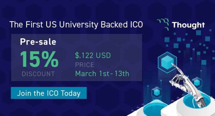 Harrisburg University Backed Thought ICO Eliminates Traditional Applications