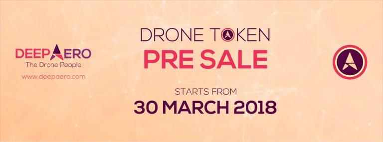 DEEP AERO's Drone Token Pre-Sale