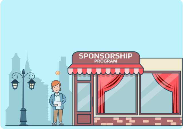 Be a Part of Sponsorship Program