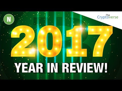 2017 Cryptocurrency Year In Review 🤔 - MindMap Presentation (The Cryptoverse)