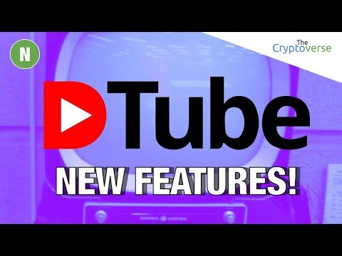 Tour Of New Features In Newly Released DTube 0.6 📺 (The Cryptoverse)
