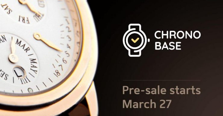 PR: ChronoBase Will Run a Token Pre-Sale to Protect Your Watch with a Blockchain Technology