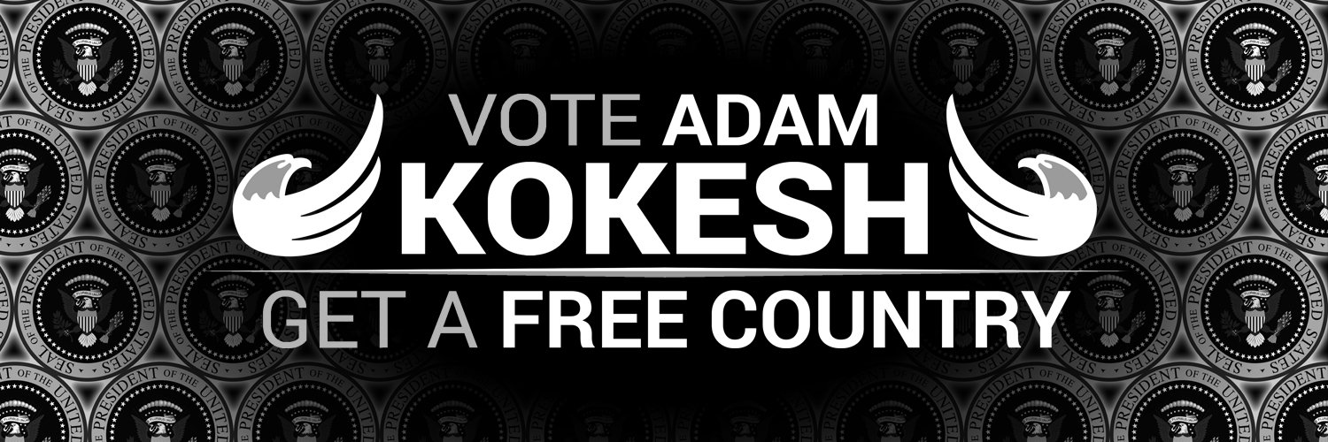 Presidential Candidate Adam Kokesh Launches Crypto-Fueled 'Book Bomb'