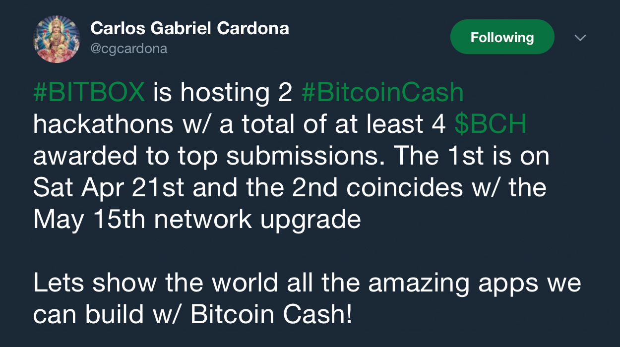 Bitbox Project Hosts Two Bitcoin Cash Hackathons