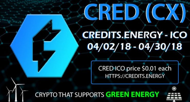 PR: Crypto with Mobile Mining App Credits.Energy ICO Is Now Live