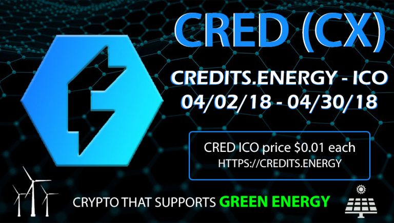 Crypto with Mobile Mining App Credits.Energy ICO Is Now LIVE
