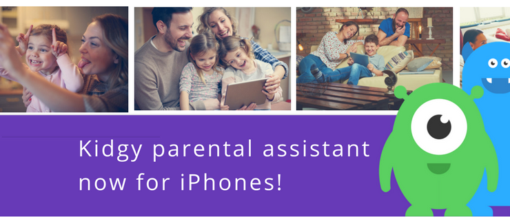 How Kidgy parental control app helps caregivers create a positive portfolio for their kids on the web