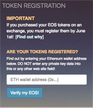 June 1 is Almost Here – Register Your EOS and eosDAC Tokens or Lose Them Forever