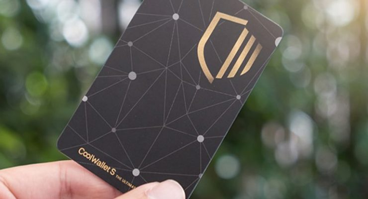 A Look at the Credit Card Shaped Hardware Device Called 'Coolwallet'