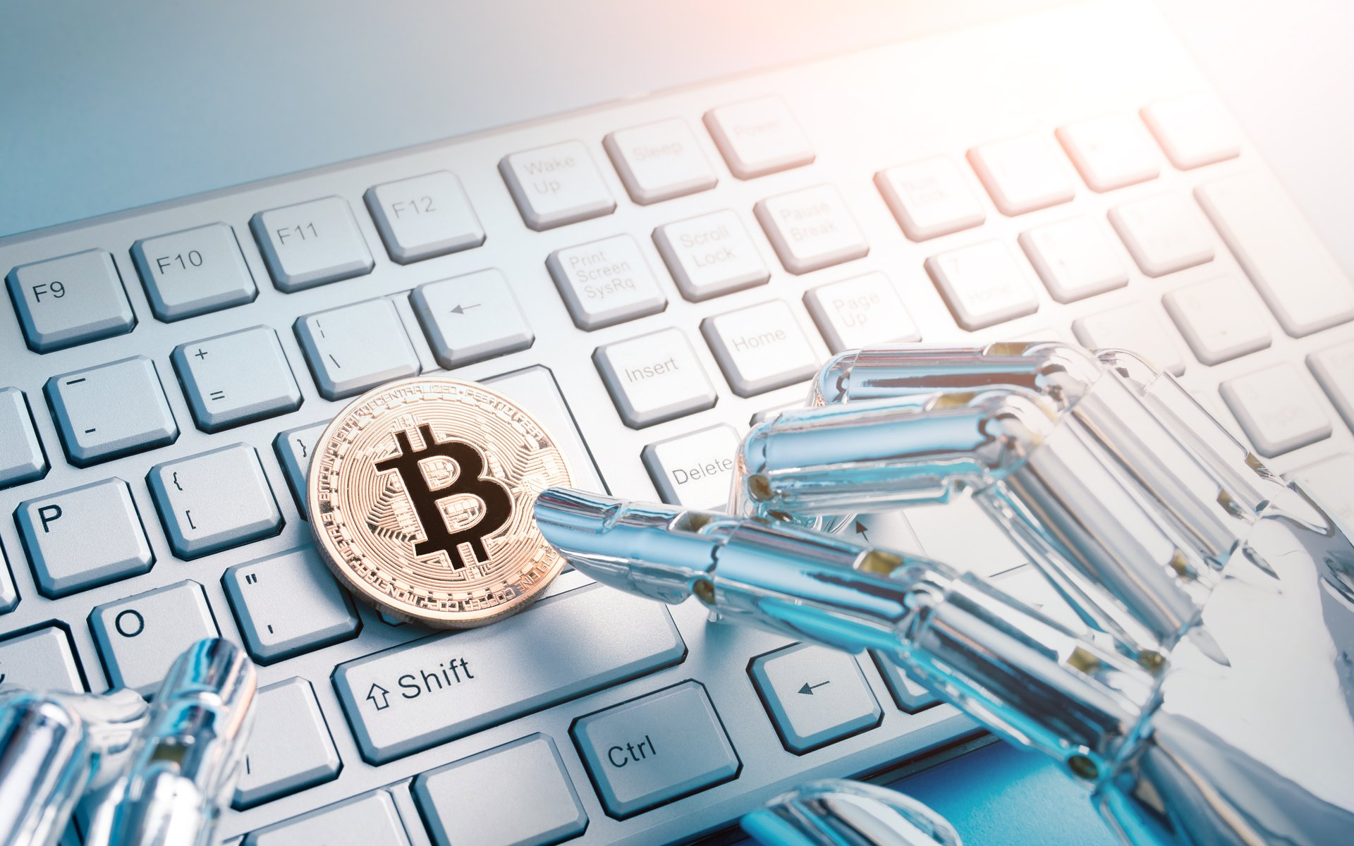 Cryptocurrencies, blockchain, and robotic technology
