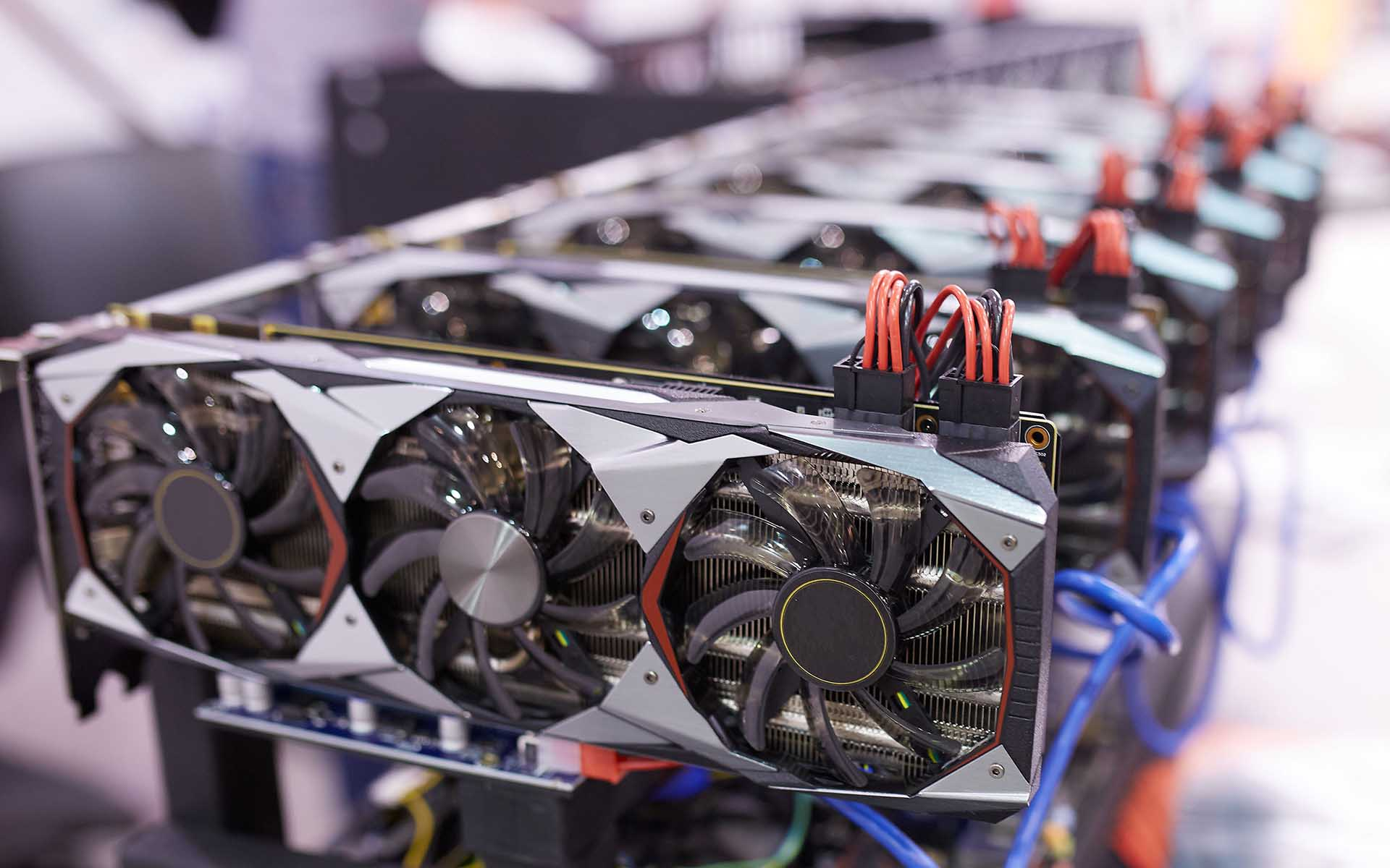 Cryptocurrency mining rigs