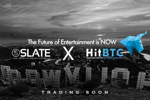 HitBTC to list Slate (SLX)