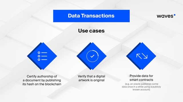 Data Transactions Arrive on Waves Mainnet