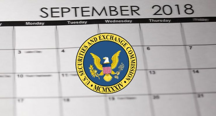 SEC Puts Off Decision on 5 Bitcoin ETFs Till September 2018