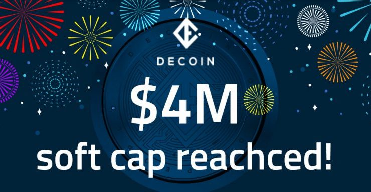 PR: DECOIN.IO Crosses Soft Cap with Exciting Developments on the Horizon