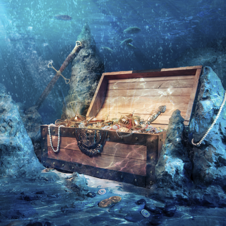Russian Shipwreck and 'Treasure' Linked to Crypto Exchange