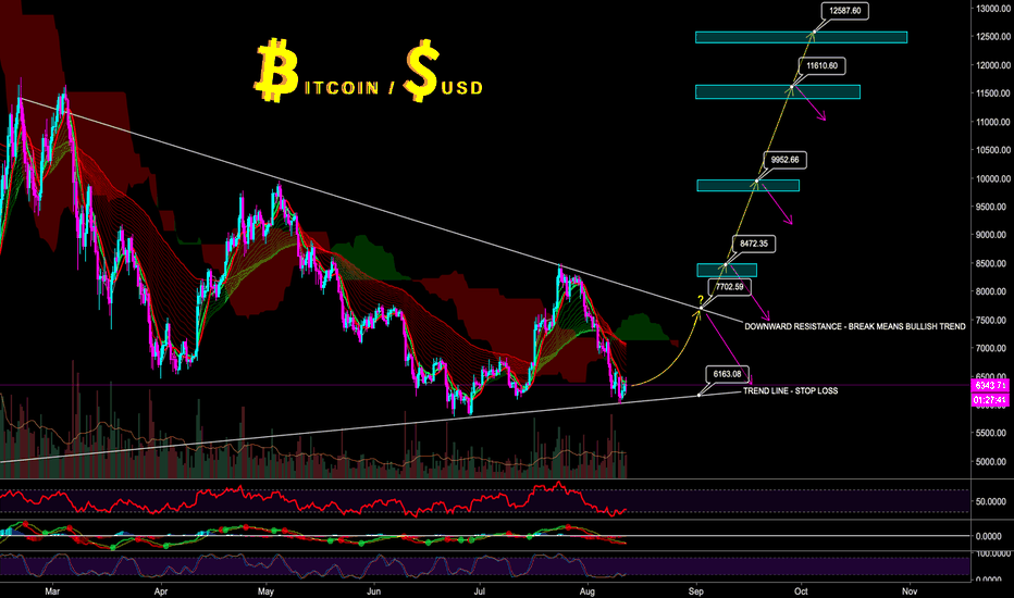 BTCUSD: BITCOIN BULL RUN SHOULD START AROUND SEP/OCT - CryptoManiac101