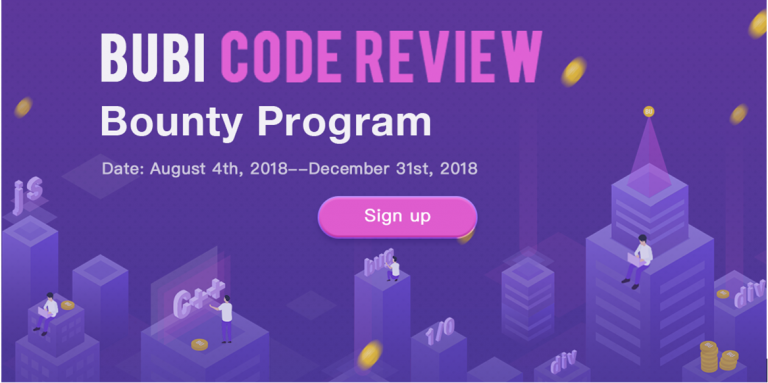 BUBI Launches Code Review Bounty Program
